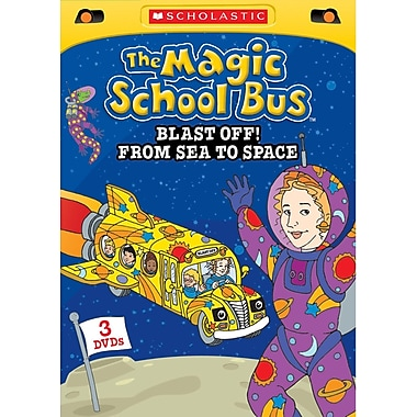 The Magic School Bus - Blast Off! From Space to Sea (DVD)