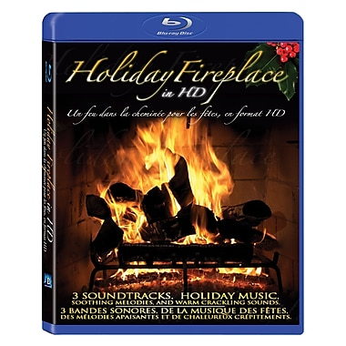 Holiday Fireplace in HD (Blu-Ray)