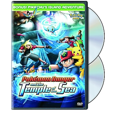 Pokemon 9: Pokemon Ranger and The Temple of the Sea (DVD)