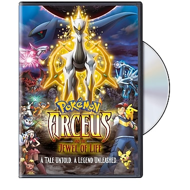 Pokemon 12: Arceus and the Jewel of Life (DVD)