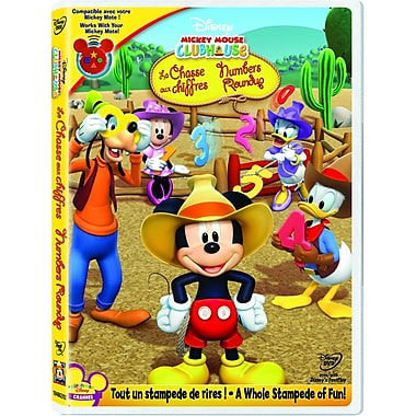 Mickey's Numbers Roundup (DVD) 2010