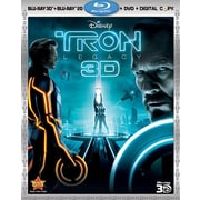 Tron: Legacy 3D (3D Blu-Ray + Blu-Ray + DVD + Digital Copy)