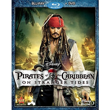 Pirates of The Caribbean: On Stranger Tides (Blu-Ray + DVD)