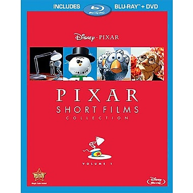 Pixar Short Films Collection, Volume 1 (Blu-Ray + DVD)