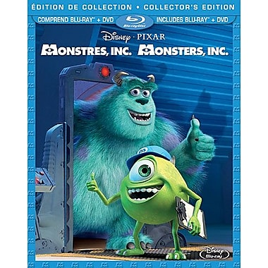 Monsters Inc. (Blu-Ray + DVD)