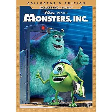 Monsters Inc. (DVD + Blu-Ray)