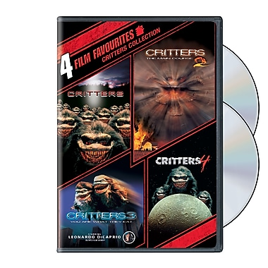 4 Film Favourites: Crittters 1-4 (DVD)
