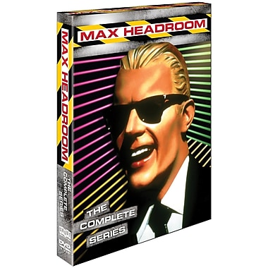 Max Headroom: Complete Series (DVD)