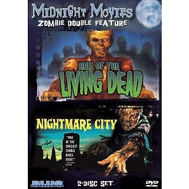 Midnight Movies - Volume 9 - Zombie Double Feature (Hell Of The Living Dead/Nightmare City) (DVD)