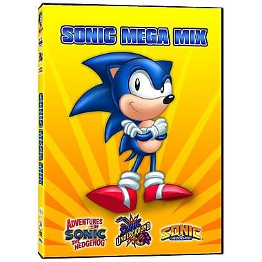 Sonic Underground: Sonic Mega Mix (DVD)