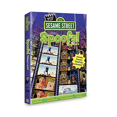 Sesame Street: The Best of Sesame Spoofs Volume 1 & Volume 2 (DVD)