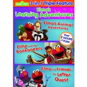 Elmo's Learning Adventures Triple Feature (DVD)