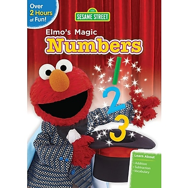 Sesame Street: Elmo's Magic Numbers (DVD)
