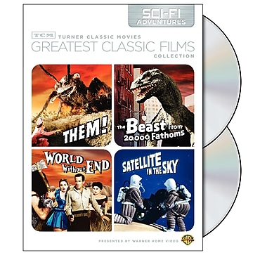 TCM Greatest Classic Films: Sci-Fi Adventures (DVD)