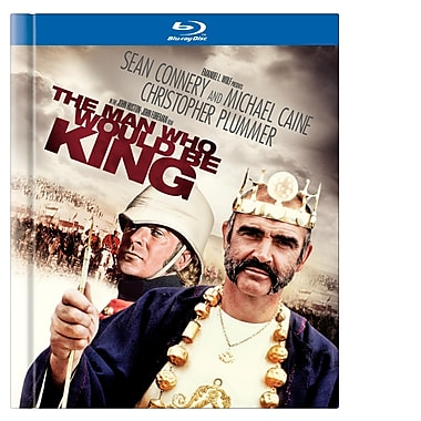 The Man Who Would Be King ( Book) (Blu-Ray)