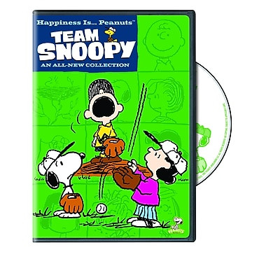Happiness is...Peanuts: Team Snoopy (DVD)