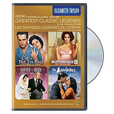 TCM Greatest Classic Films: Legends - Elizabeth Taylor (DVD)