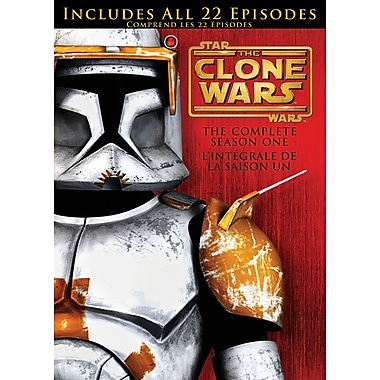 Star Wars Season 1 Clone Wars: Complete (DVD)