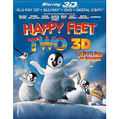 Happy Feet 2 3D (3D Blu-Ray)