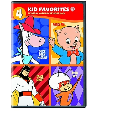 4 Kid Favorites: Saturday Morning Cartoons 1960's (DVD)