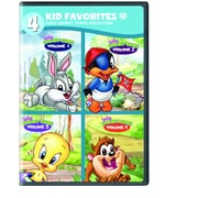 Baby Looney Tunes: 4 Kid Favorites: Volumes 1 - 4 (DVD)