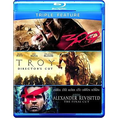 Alexander Visited/Troy/300 (Blu-Ray)