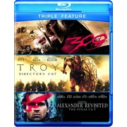 Alexander Visited/Troy/300 (Blu-Ray)
