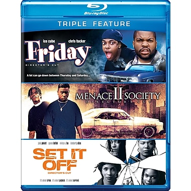 Friday/Menace II Society/Set it Off (Blu-Ray)