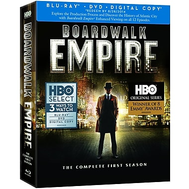 Boardwalk Empire: The Complete First Season (Blu-Ray + DVD + Digital Copy)
