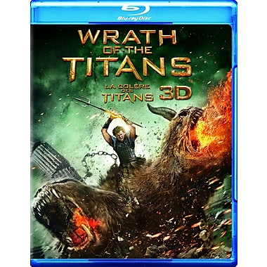 Wrath of the Titans 3D (3D Blu-Ray + Blu-Ray + DVD + copie numérique)
