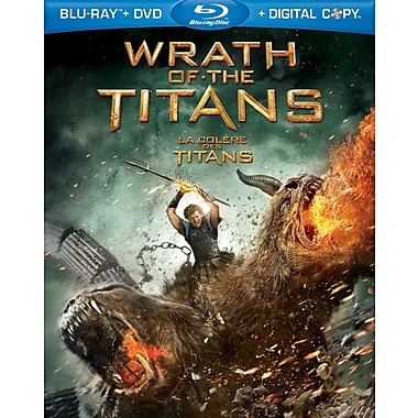 Wrath of the Titans (Blu-Ray + DVD + copie numérique)