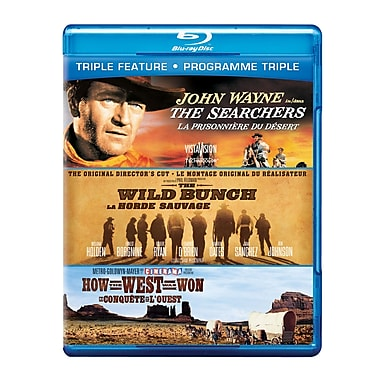The Searchers/The Wild Bunch/How the West was Won (Blu-Ray)