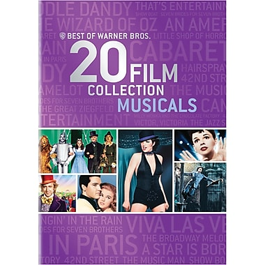 Best of Warner Bros. 20 Film Collection Musicals (DVD)