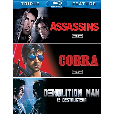 Assassins/Cobra/Demolition Man (Blu-Ray)