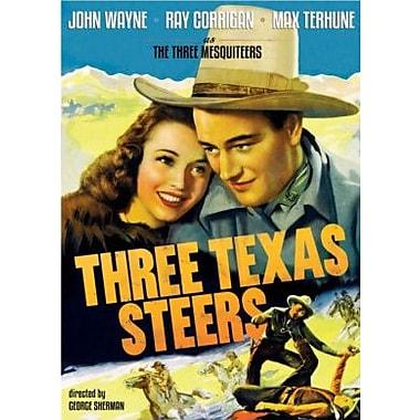 Three Texas Steers (DVD)
