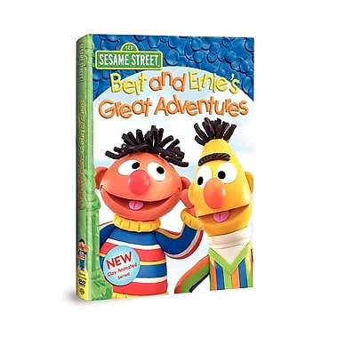 Sesame Street:Bert and Ernie Great Adventures (DVD)