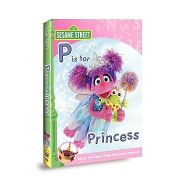 Sesame Street: Abby and Friends: P is for Princess (DVD)