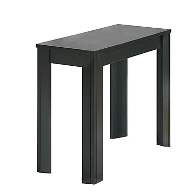 Monarch Wood Side Table, Black, Each (I3110MSI)