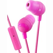JVC Marshmallow HAFR37P In-Ear-canal Headphone with Mic, Pink