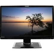 "PLANAR PLL2410W 24"" Black Edge-Lit LED LCD Monitor, DVI"