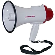 Pyle® PMP35R Professional Megaphone/Bullhorn With Siren and Voice Recorder