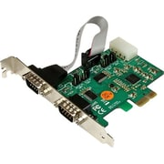 StarTech PEX2S553S 2 Port Industrial PCI-Express RS232 Serial Adapter Card