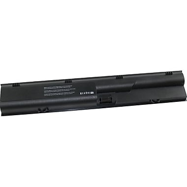 V7® HPK-QK646UTV7® Li-Ion 4400 mAh 6-Cell Notebook Battery, Black