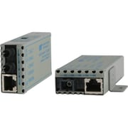 Omnitron 1100-0-1 miConverter Miniature UTP to 100 Fiber Media Converter