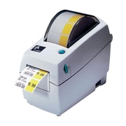 Zebra® 2824 Plus Direct Thermal Desktop Label Printer, White
