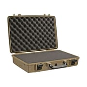 "Pelican™ 1490 17"" Notebook Hard Case With Foam, Desert Tan"