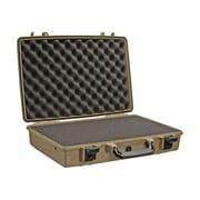 "Pelican™ 1490 17"" Notebook Hard Case With Foam, Desert Tan"