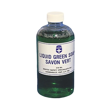 Liquid Green Soap, 250 ml, 8/Pack