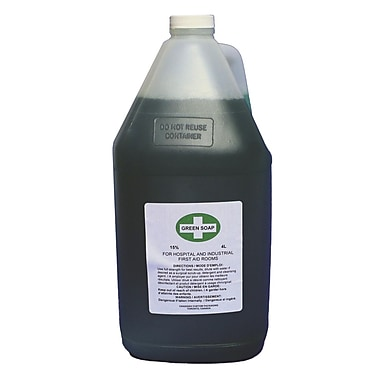 Liquid Green Soap, 4 L