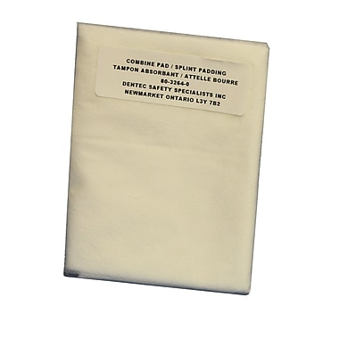 Splint Padding, Bagged, 48/Pack